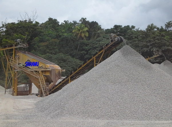 整套破碎筛分线STONE CRUSHING & SIEVING PLANT
