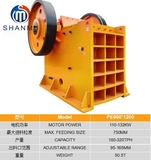 SHANMU JAW CRUSHER PE900x1200